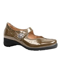 17ef2f8e8b7aba Take a look at this Camel Trude Patent Mary Jane - Women by Sanita on