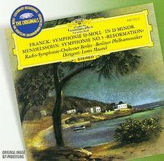 FRANCK Symphonie d-moll - Maazel - Deutsche Grammophon