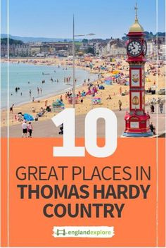 Dorset is one of the more untouched counties of England, offering the beauty of the Cotswolds, without the crowds.  It's also home to one of England's finest authors, Thomas hardy, whose novels such as Tess of the D'urbervilles and Far from the Madding Crowd were based in the county...