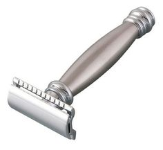 Merkur Stainless Steel Long Handle Double Edge Safety Razor (43C)