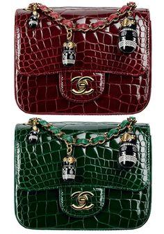 Chanel Exotic Matriochka Flaps