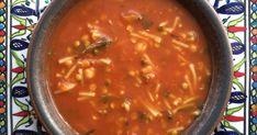 recept voor vegetarische marokkaanse tomatensoep harira met kikkererwten linzen vermicelli #lekkersvanthuis