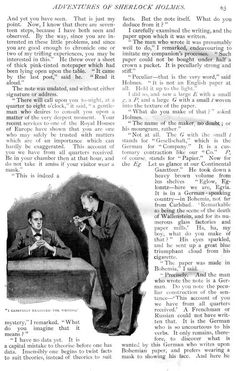 Sidney Paget - A Scandal in Bohemia (2) - The Adventures of Sherlock Holmes - Strand Magazine - 1891/2