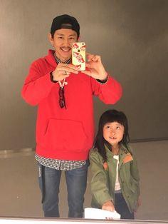映画デートした時のです。歯が抜けた娘とw 今月もよろしくお願いします♡ 【TOPS】パーカーL  シ