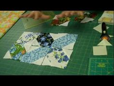 """http://missouriquiltco.com -- Jenny Doan shows the fun and easy way to make the X's and O's quilt block.     This is made using the Charm Packs (5"""" squares) offered in our online quilt shop.  Click the links below to see them and other materials needed to make this project.    X's and O's Pattern by MSQC:  Free PDF Version: http://quiltingtutorials.c..."""