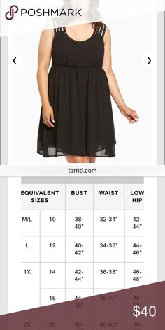 Torrid black dress🌹 This dress is perfect! It is flowy and very flattering! I wore this dress only one time, so it has 0 snags and 0stains 🌹🌹 torrid Dresses Midi