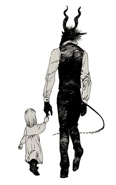 There is a picture of my Uber goth brother (19) and little faerie of a cousin (2) that looks just like this. I love it. It's really disturbing how many people save this without changing this text.