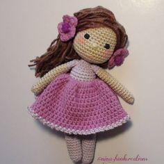 "837 Me gusta, 31 comentarios - Nina's Dream Dolls (@nina.hookcreations) en Instagram: ""This is my new girl Tina! Have a wonderful evening my friends! #crochet #crochetdoll #crochetart…"""