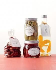 Homemade Food Gifts by Martha Stewart