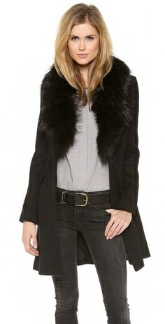 Love this DVF Selena coat - perfect for fall