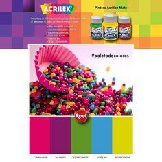 #Paletadecolores Acrilex