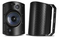 Polk Audio SDI (Black) All-weather indoor/outdoor speaker with selectable stereo input mode at Crutchfield Home Theater Setup, Home Theater Speakers, Best Outdoor Speakers, Family Den, Atrium Design, Butyl Rubber, Audio Installation, Neodymium Magnets, Loudspeaker