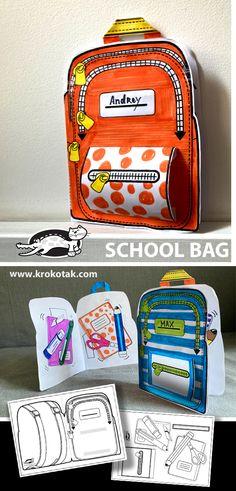 krokotak | SCHOOL BAG