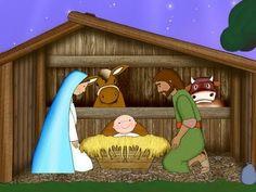 Ted Shrewsbury shared a video Christmas Nativity, Christmas Music, Christmas Crafts For Kids, A Christmas Story, Winter Christmas, Merry Christmas, Simple Nativity, The Nativity Story, Bible Stories For Kids