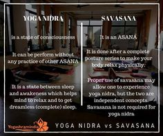 One should always practice YOGA NIDRA to make the mind relax. Some points are given to not get confused about YOGA NIDRA to SAVASANA. #practiceyoga #healthy #living #yogaislife #hathayoga #yoga www.yogashramindia.com