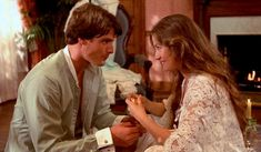 Romantic tradition returns in the movie Somewhere in Time (1980) starring Christopher Reeve and Jane Seymour - #christopherreeve #janeseymour #somewhereintime #classicmovies #movies #timetravel #clickamericana