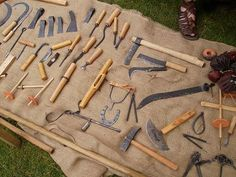 manufacturers of tools and equipment for Museum, Film and re-enactment use - Anglo-Saxon Reenactment