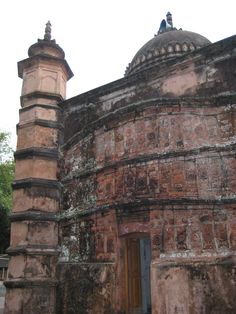 The 400-year-old Atia Jam-e Mosque is in the Delduar upazila of Tangail. According to officials of Department of Archaeology and local historians, the Land lord (Zamindar) of Atia, Syed Khan Panni, had the mosque built on the bank of Louhaganj River by the best masons and artisans of the time (1609). Panni received Atia Pargana(District) from the Mughal Emperor Jahangir as a gift in the beginning of the 17th century. Bangladesh. Image and Text by Nasir Khan