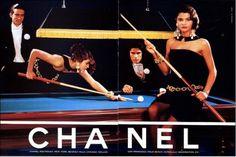 vintage fashion ad 1980s Chanel