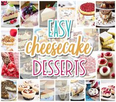 The BEST Cheesecakes Recipes - Favorite Easy Party Desserts for Easter, Mother's Day Brunches or any celebration - Dreaming in DIY