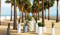 Large flower pot design deco ideas