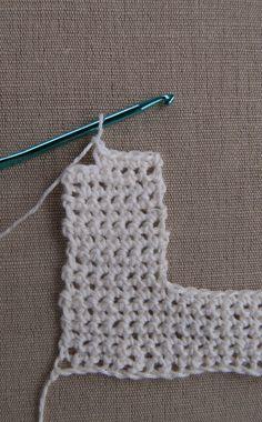Crochet and Sew Dress-4