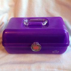 Caboodles Purple Mirror Makeup Case Organizer Vanity Glitter Pageant Metallic | Health & Beauty, Makeup, Makeup Bags & Cases | eBay!