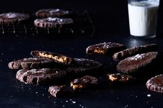 Chocolate Peanut Butter Cookies (Magic Middles) recipe on Food52