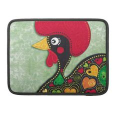 Rooster of Portugal MacBook Pro Sleeve