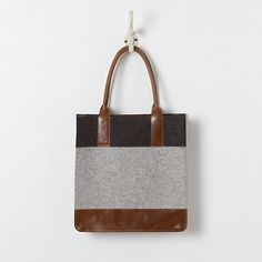 Felt & Leather Carryall in Sale Spa + Accessories at Terrain