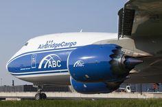 Air Bridge Cargo B747-8F freighter