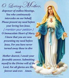 Novenas to Mother Mary Prayers To Mary, Novena Prayers, Special Prayers, Catholic Prayers Daily, Faith Prayer, God Prayer, Prayer Quotes, Spiritual Prayers, Prayers For Healing