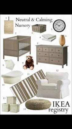 da Ikea oggetti per una nursery calma e tranquilla