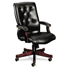 HON 6540 Series Executive High-Back Swivel Executive Chair Upholstery:
