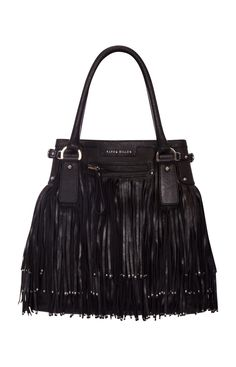 @Karen Millen #fringe leather bag!