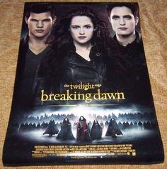"the twilight saga breaking dawn part 2 Original Movie Poster, 27"" X 40"" Size"