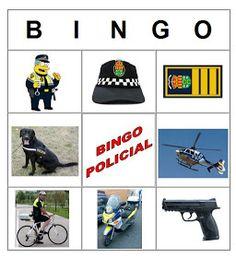Mi grimorio escolar: BINGO POLICIAL