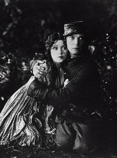 Buster Keaton and Marion Mack in The General, 1926.
