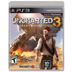 This game is fantastic! It is a great sequel to the great Uncharted 2, it had a deep story mode and a good online multiplayer. The only thing about it is the story is shorter then the last game and had a ending that was not quit as good as the last game. But other then that, this game is great. 8.5/10 stars. $39.96 #uncharted3 #ps3 #videogame #videogames #gaming