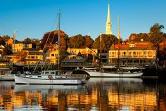Camden Maine Photograph by Brian Jannsen - Camden Maine Fine Art Prints and Posters for Sale Rockland Maine, Camden Maine, Maine New England, New England Travel, Moving To Maine, Vacation Destinations, Dream Vacations, Visit Usa, Travel Pictures