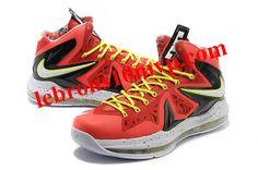 Nike Lebron X (10) PS Elite Total Crimson 579827 800