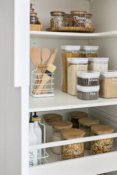 home dco Home Organisation Labels amp; - home dco Home Organisation Labels amp; Kitchen Organization Pantry, Home Organisation, Diy Kitchen Storage, Home Decor Kitchen, Home Kitchens, Pantry Ideas, Pantry Cabinets, Kitchen Ideas, Organized Pantry