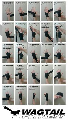Martial arts - Short guide which outlines a fast and secure way to wrap the hands for boxing Good to know for when I start wrapping in kickboxing Muay Thai, Boxe Fitness, Boxing Hand Wraps, Boxing Training, Boxing Boxing, Boxing Workout With Bag, Punching Bag Workout, Kick Boxing Girl, Sport Boxing