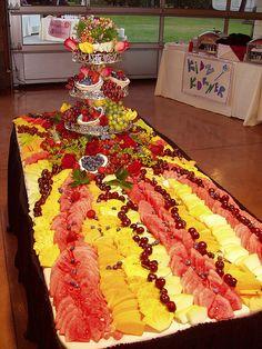 Beau Fruit Table