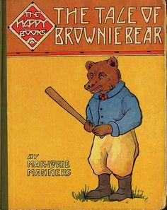 The Tale of Brownie Bear by baseballart, via Flickr