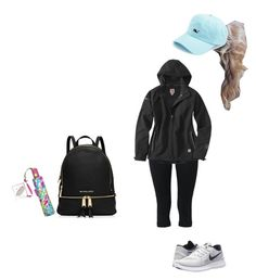 """""""Rainy day grocery shopping"""" by nycityprincess ❤ liked on Polyvore featuring NIKE, Carhartt, Vineyard Vines, MICHAEL Michael Kors and Lilly Pulitzer"""