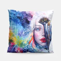 Coralized Pillow, Live Heroes