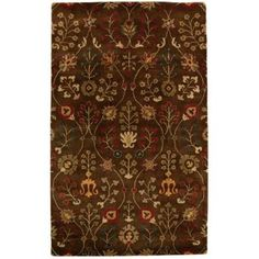 Home Decorators Collection Provencial Autumn Wool 5 ft. x 7 ft. 6 in. Area Rug - PROV5X7AU - The Home Depot