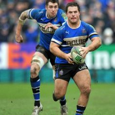 Biller playing for Bath 2011