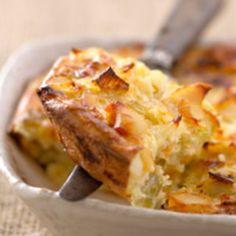 Gratin de poireaux, facile et pas cher : recette sur Cuisine Actuelle